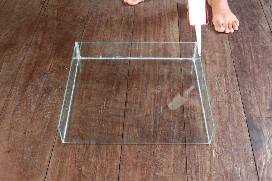 how to make a glass aquarium